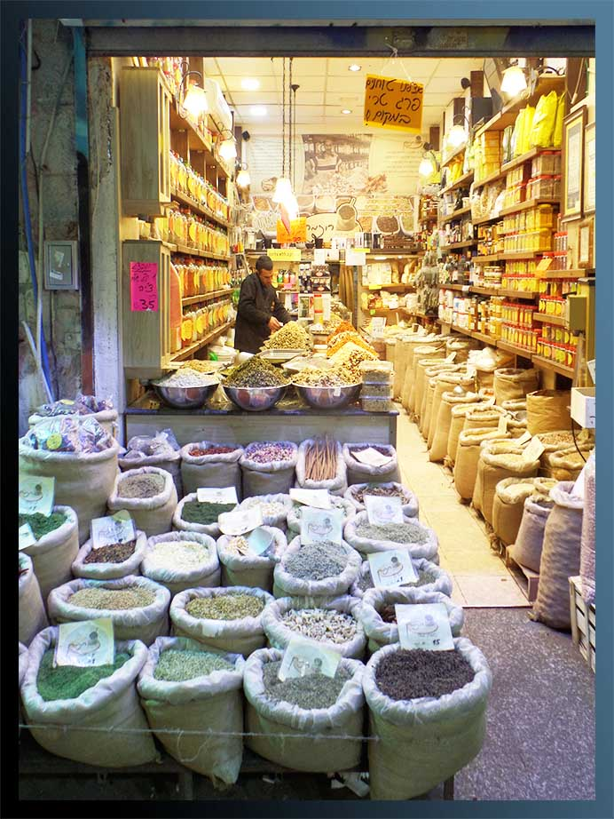 Spice Store in the Shuk