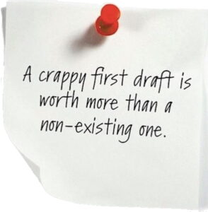 Post-it: Write your draft!